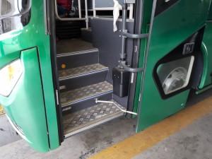 Aluminium Plated Entry Stepss